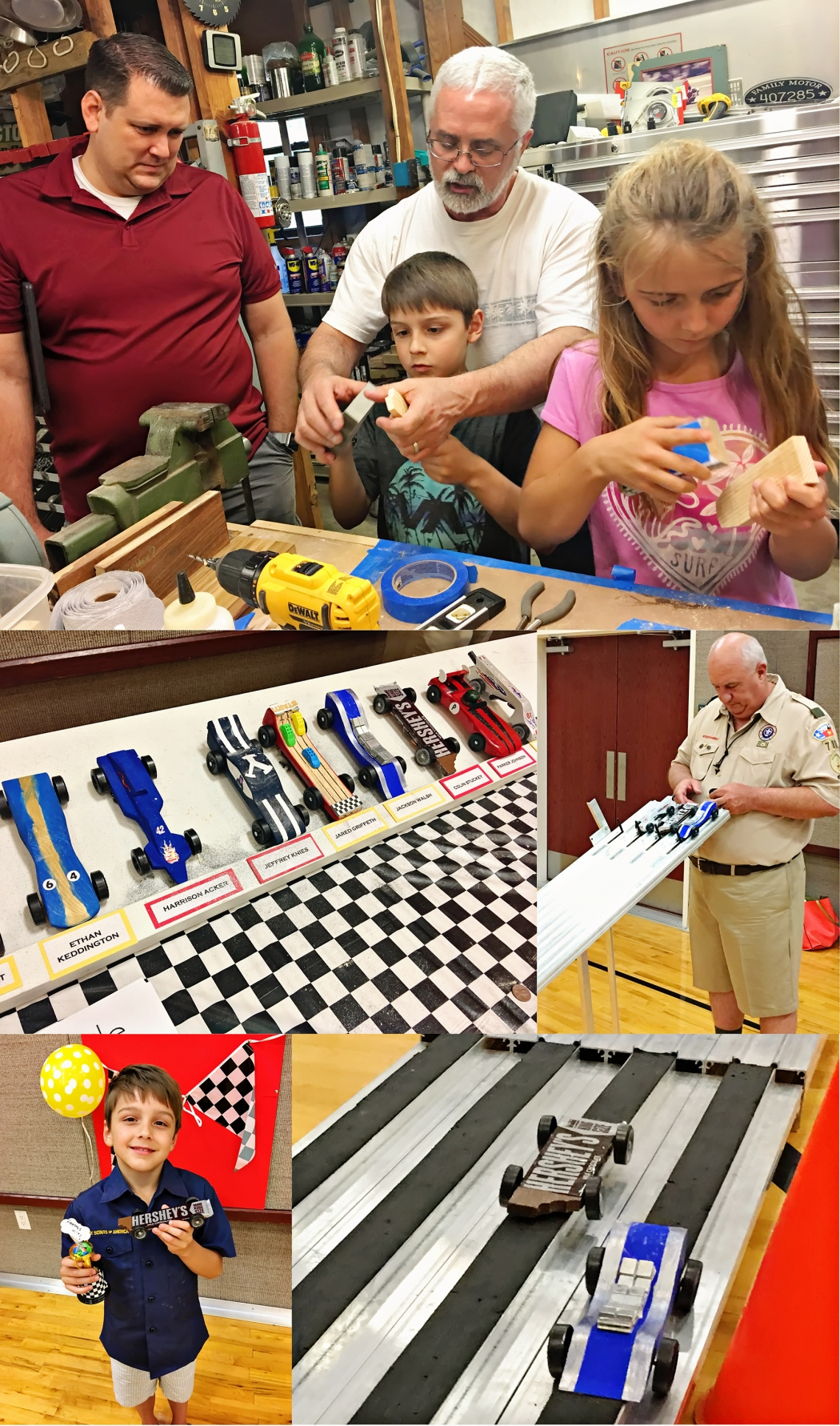 Colin Pinewood Derby April 2017