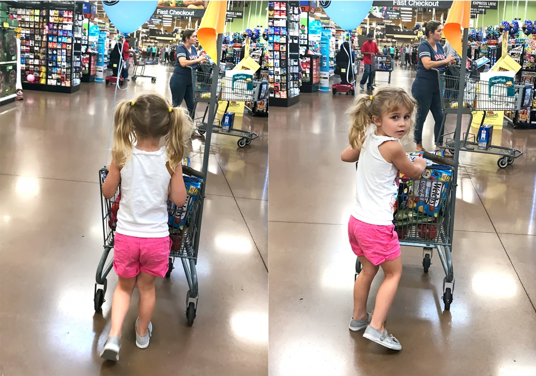 Sydney at Kroger May 2017