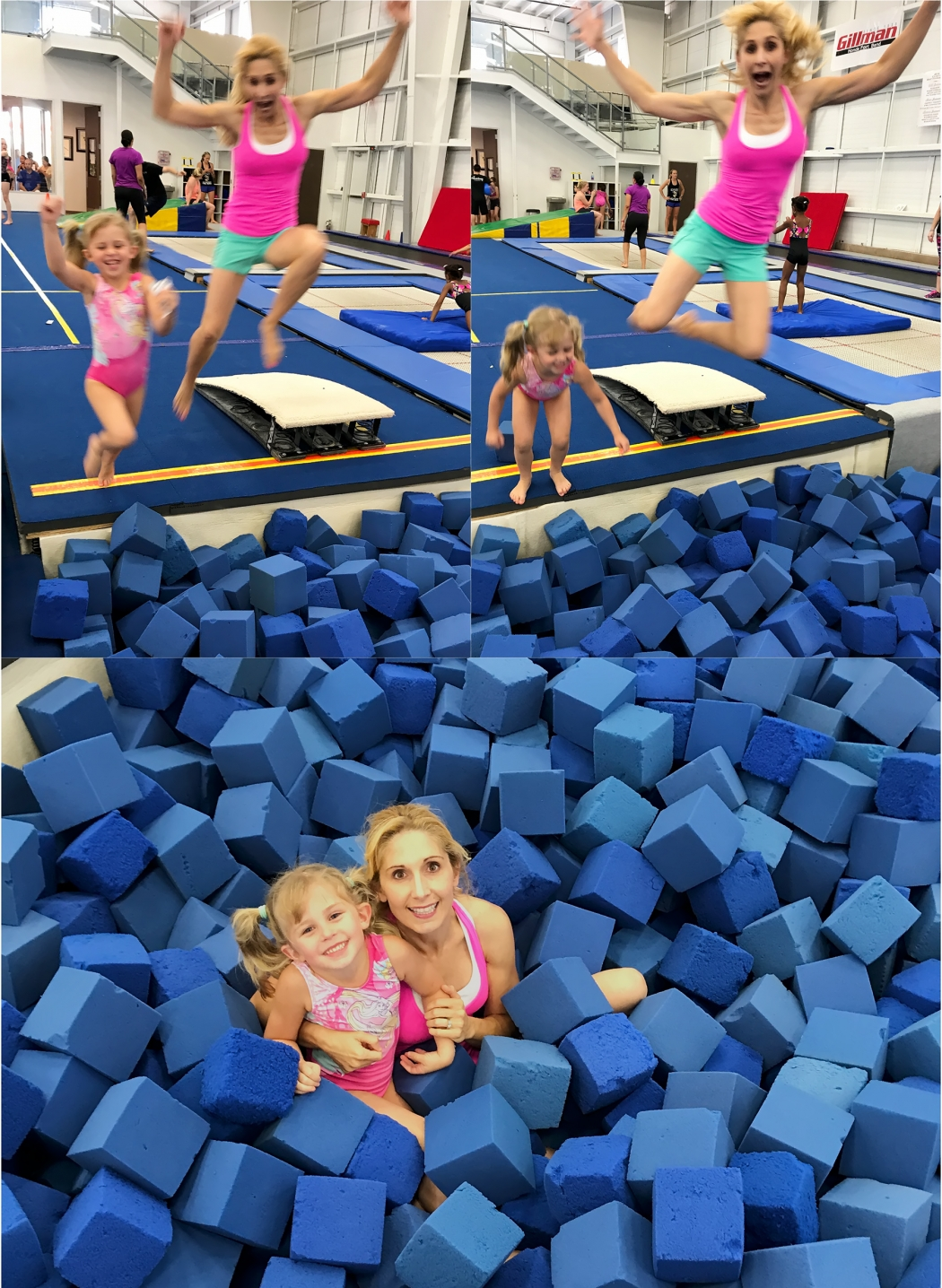 Mommy and Sydney Gymnastics May 2017